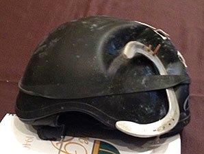 Edgar Prado's helmet