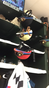 Ortiz brothers jockey room side by side
