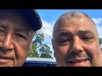 Jacinto Vasquez rider of Ruffian and two time Kentucky Derby winner catches up with Jonathan Stettin who he worked with on Jonathan's Ruffian story and book